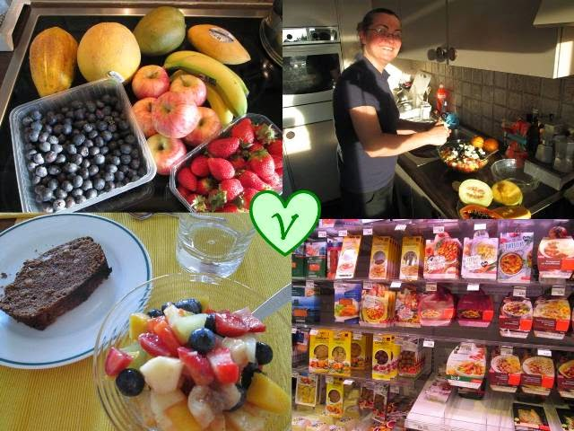 banane, Bevande, La mia sfida, lamponi, pere, ricette vegan, smoothie, yogurt soia, zenzero,