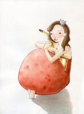 princess mondaray illustration il·lustració ilustración infantil saxo