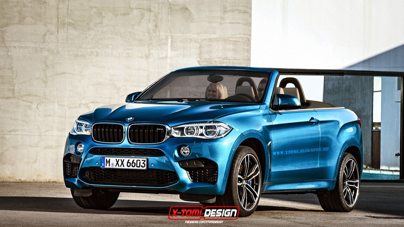 Bmw X6m Convertible Would Be As Useful As A Ma 238 Tre At
