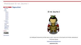 Web Quest El Rei Jaume I, de MCarmen Devesa, tutora de 5é A