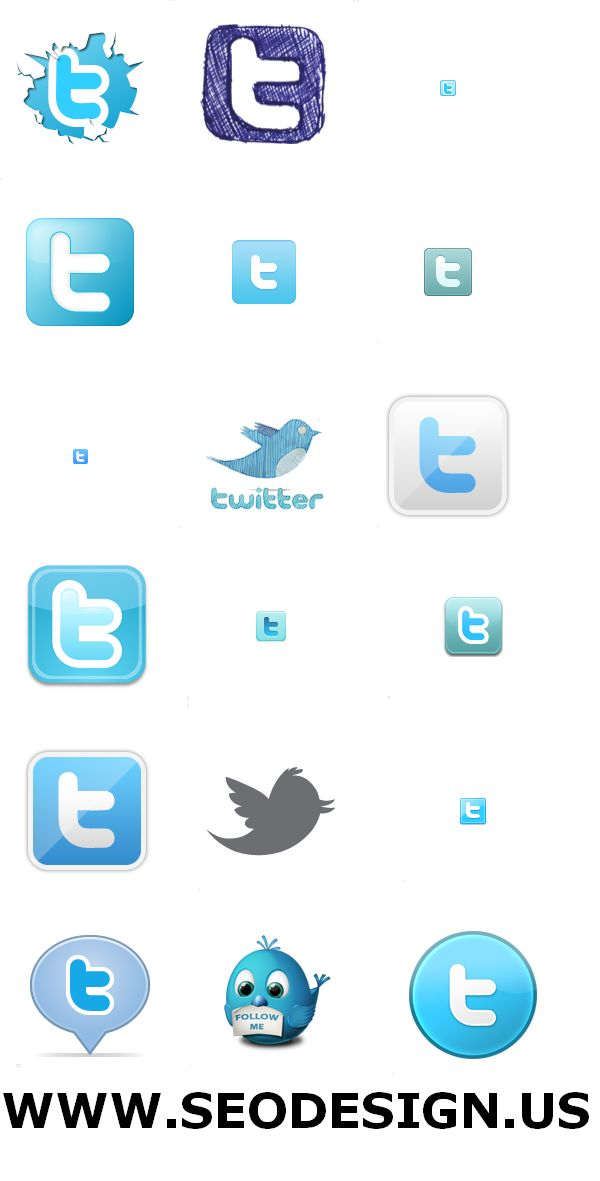40+ Free Twitter Web 2.0 Vector Icons Set Download Twitter Icon Download