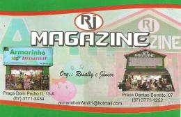 Armarinho Infantil e RJ Magazine