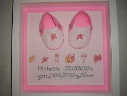 Metryczki / Baby's birth samplers