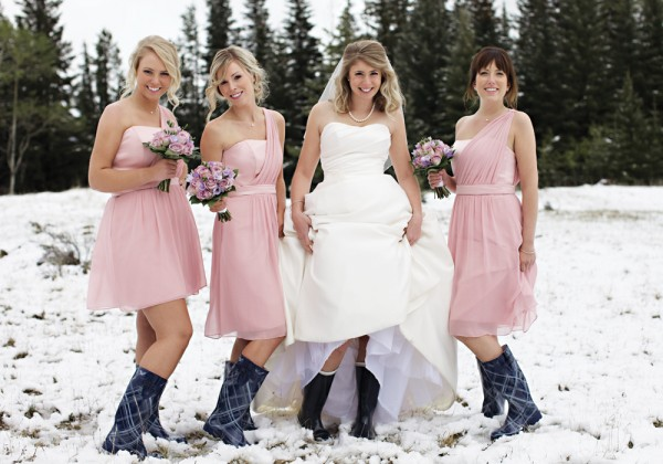 Chic bridesmaid dress july 2013 for Bridesmaid dresses for winter weddings