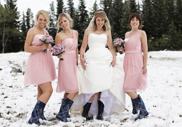 Chic Bridesmaid Dress July 2013