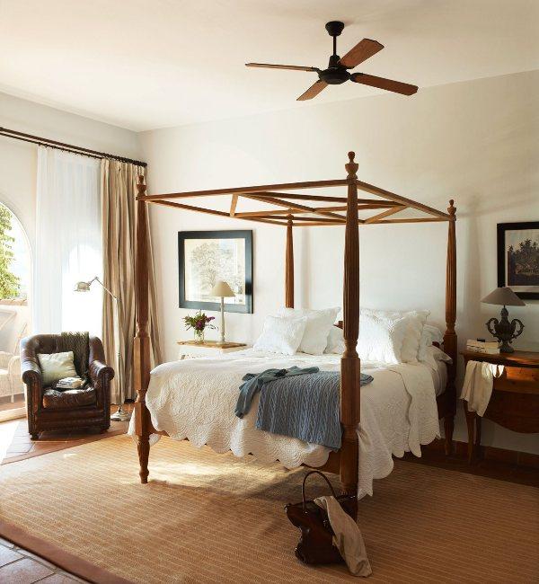 pero los dormitorios con camas de ste tipo no son siempre de estilo extico colonial o con cierto aire romntico tambin encajan