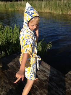 morgonrock badrock loppistyg frotte