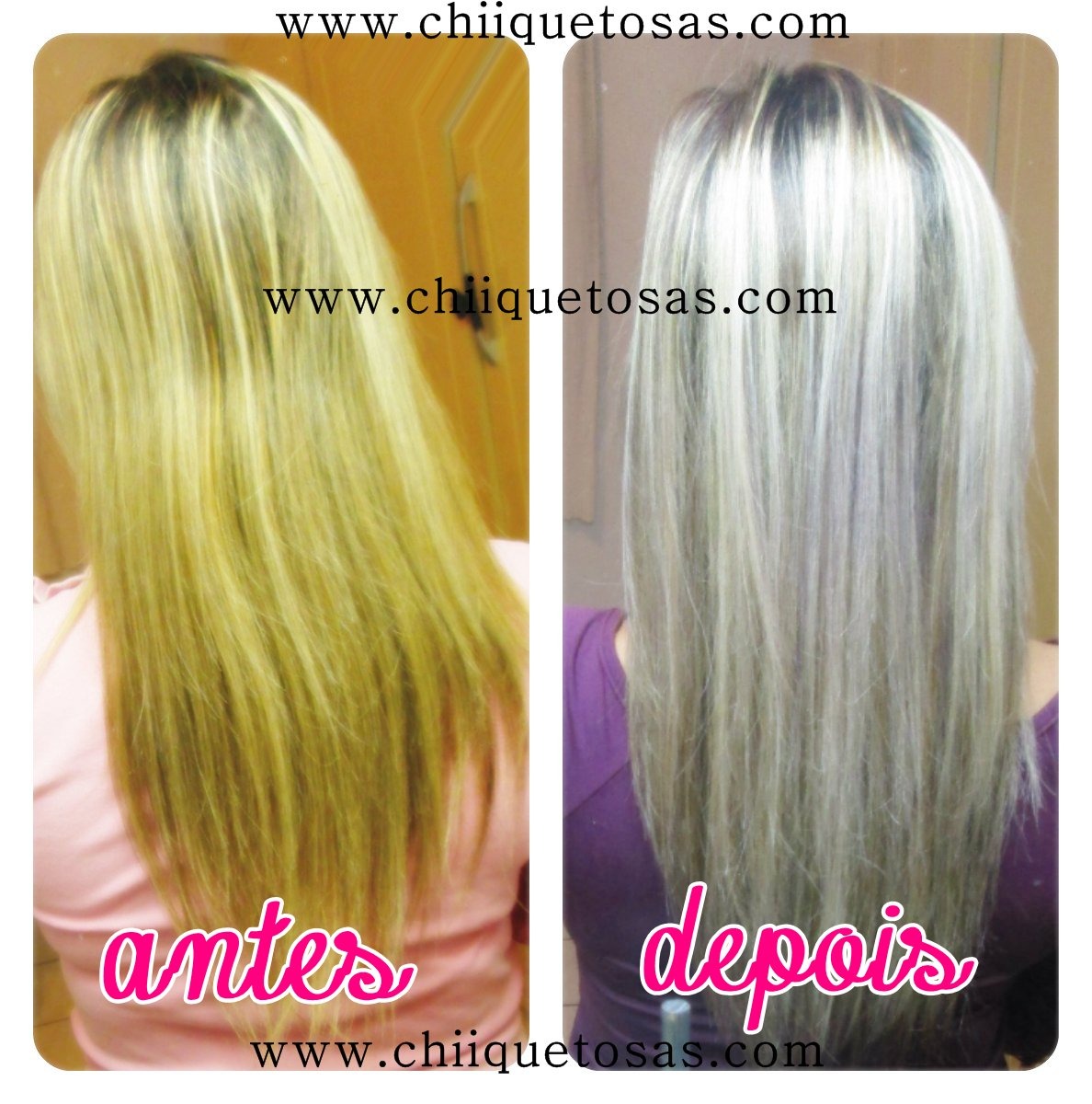 Populares ♥ Rayssa Rezende ♥: Como platinar o cabelo com Violeta Genciana QW47