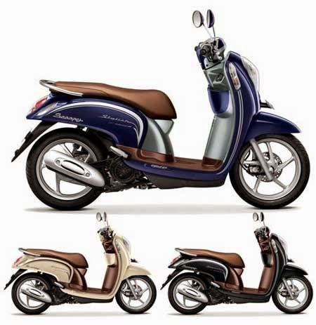 warna terbaru Honda Scoopy eSP 2015 Stylish