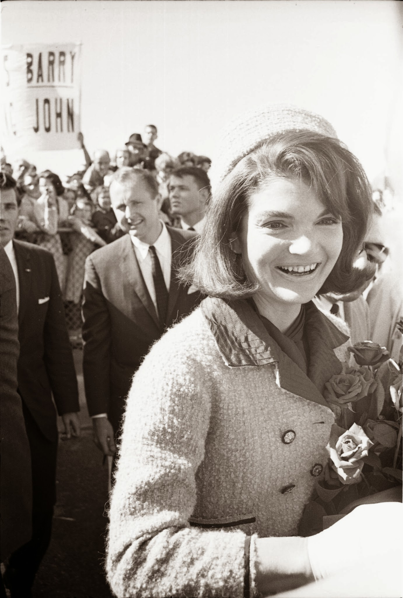 Jackie-Kennedy-And-Hugh-Sidey-At-Love-Fi