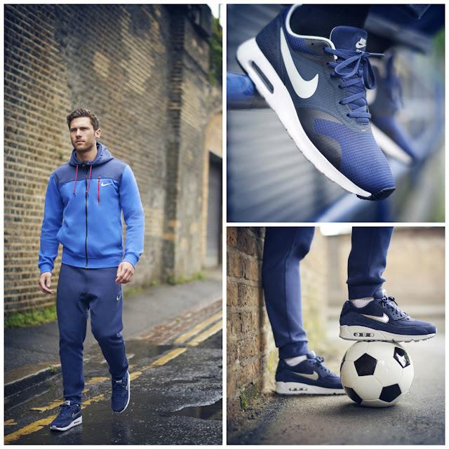 Die 'Lifestyle of Football'-Kollektion von Foot Locker | Der August wird blau | Atomlabor Blog Lifestyle Fashion Tipp