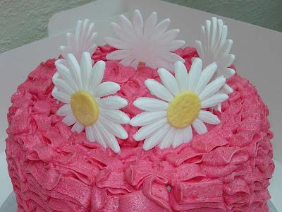 Hannahs Creative Cakes Pink Summer Birthday Cake
