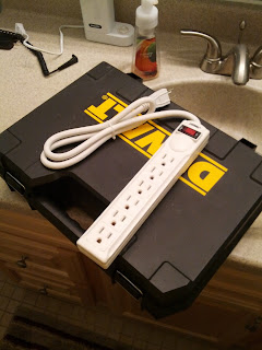 Six-socket power strip.