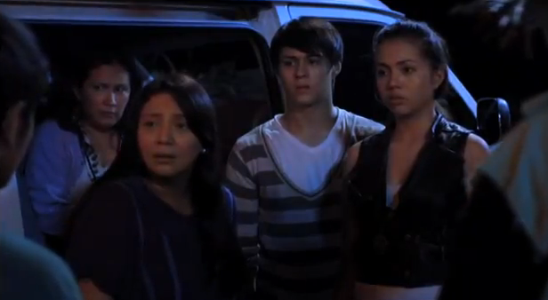 The Strangers 2012 horror movie about a family getting lost in a jungle and getting hunted by aswang enchong dee and julia montes Metro Manila Film Festival 2012 horror entry