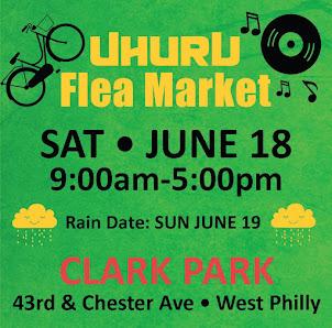 Uhuru Flea Market - SAT JUNE 18th!