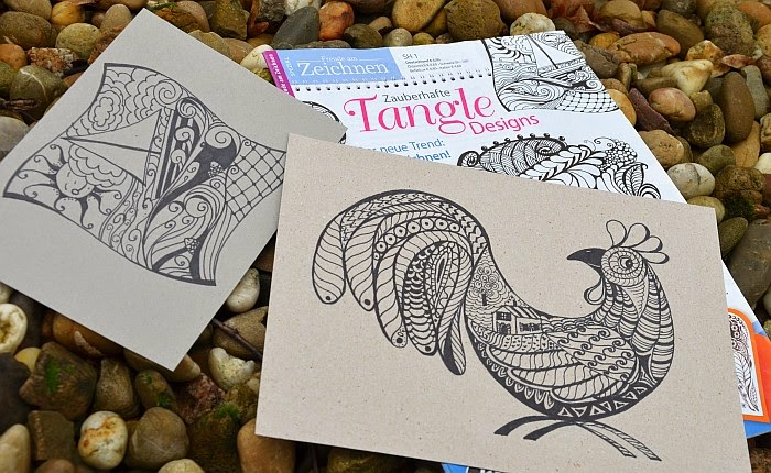 Tangle Designs, Olga Graf, Дудлинг, Зентангл