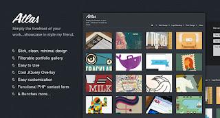 Atlas (PSD + HTML)