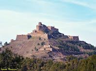 """Zoom al Castell de Cardona des del Bosc del Pinell. Autor: Francesc """"Caminaire"""""""