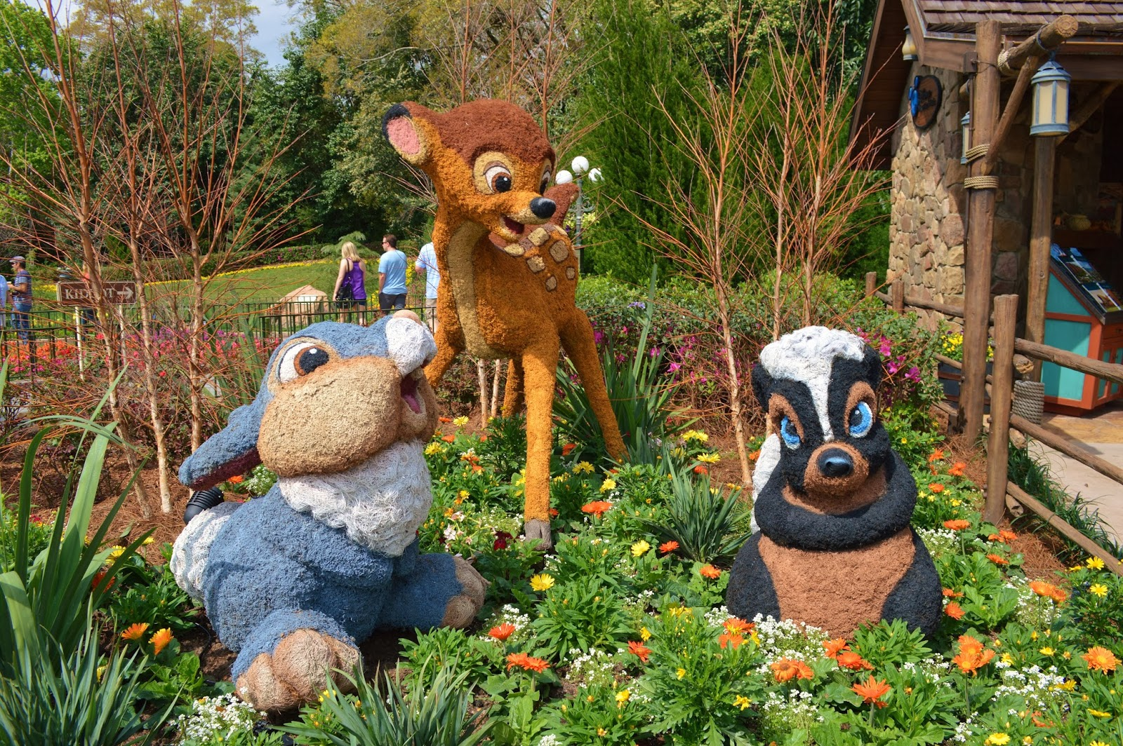 All Around Orlando: 2014 Epcot Flower & Garden Festival Photo Tour ...