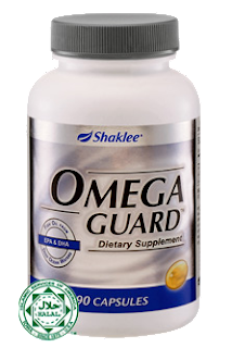 omega guard, cegah senggugut, cegah PMS