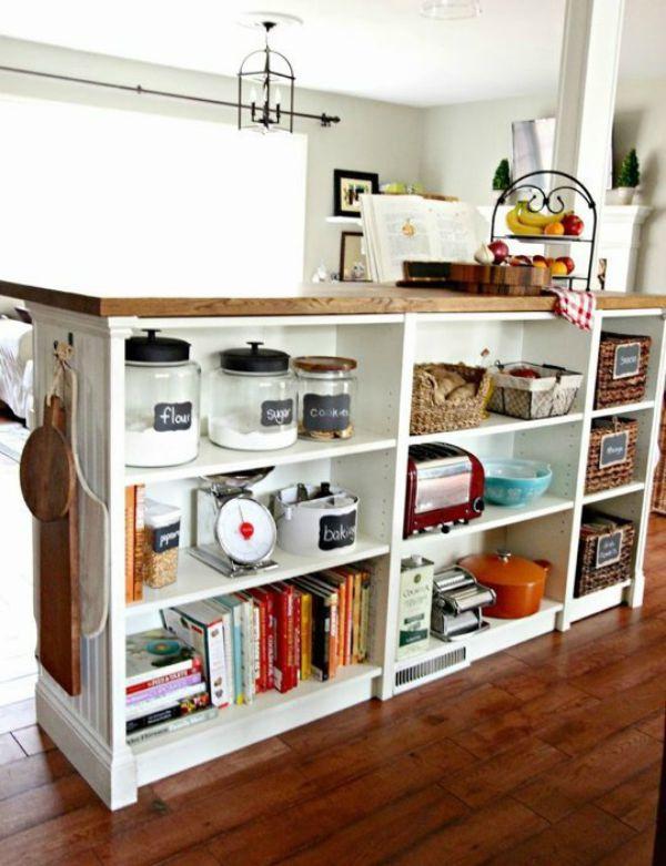 10 Creative Cheap Kitchen Islands Cozy Little House