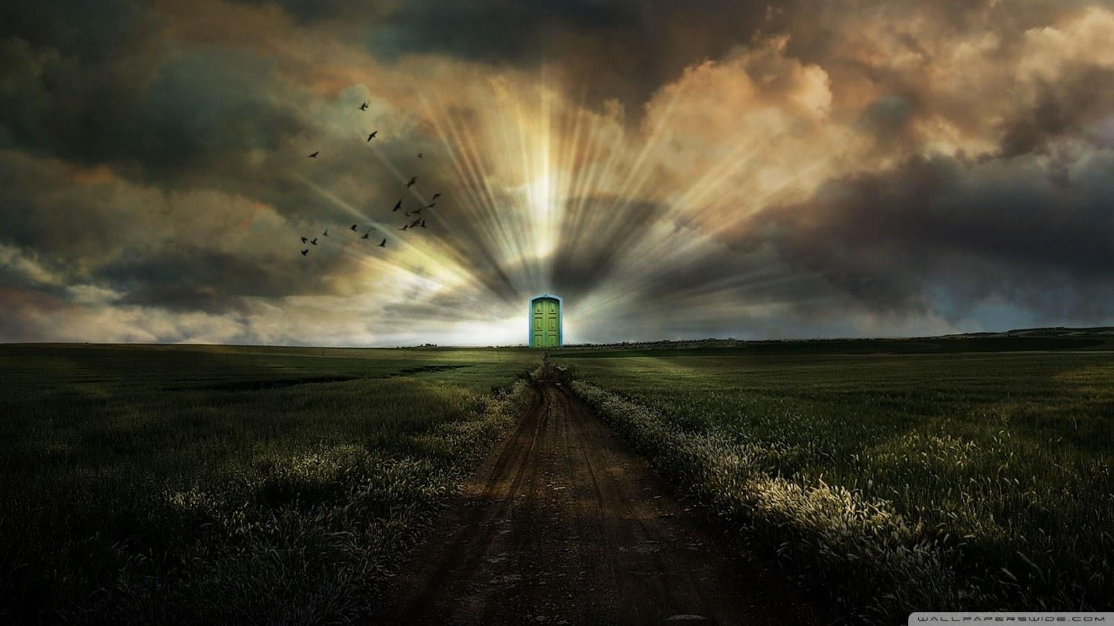 Door To Heaven HD desktop wallpaper