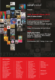 Art News, 12th Annual Show at Galerie Sara Arakkal, Art Scene India Recommends