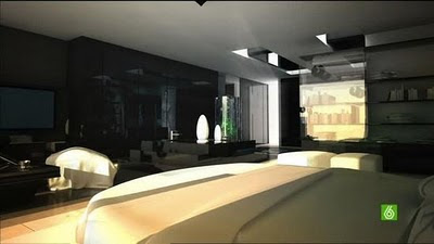 Christiano Ronaldo (CR7) Residence: Bedroom
