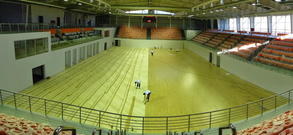 Futsal Arena di Chisinau, capitale della Moldavia