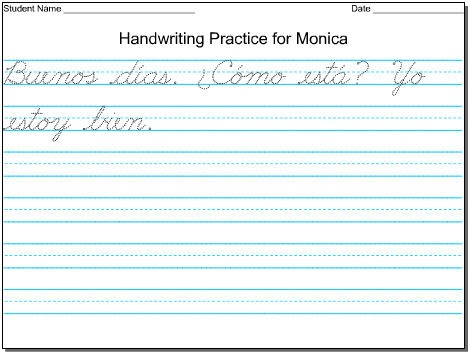 Worksheets Handwriting Worksheet Maker For Kindergarten mommy maestra free diy handwriting worksheets