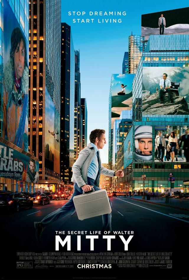 La película The Secret Life of Walter Mitty ( La vida secreta de Walter Mitty )
