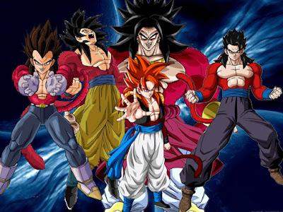 5 Karakter Dragon Ball yang bisa berubah menjadi Super Saiyan 4