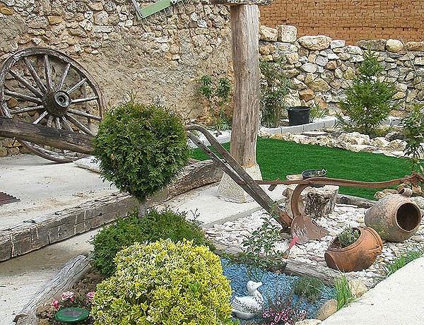 Decoracion de jardines exteriores parte 3 Decoracion de jardines pequenos rusticos