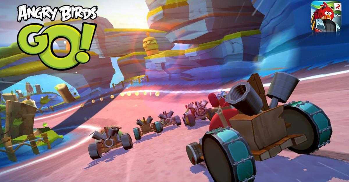 Baru Angry Birds Go sub zero episode membawa karts yang lebih kuat
