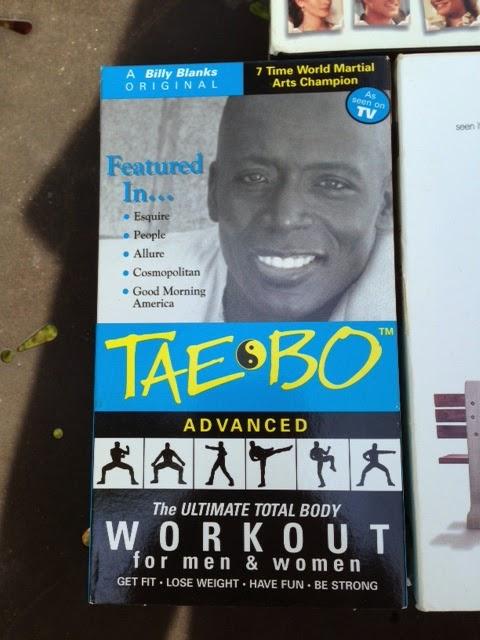 Tae Bo VHS tape