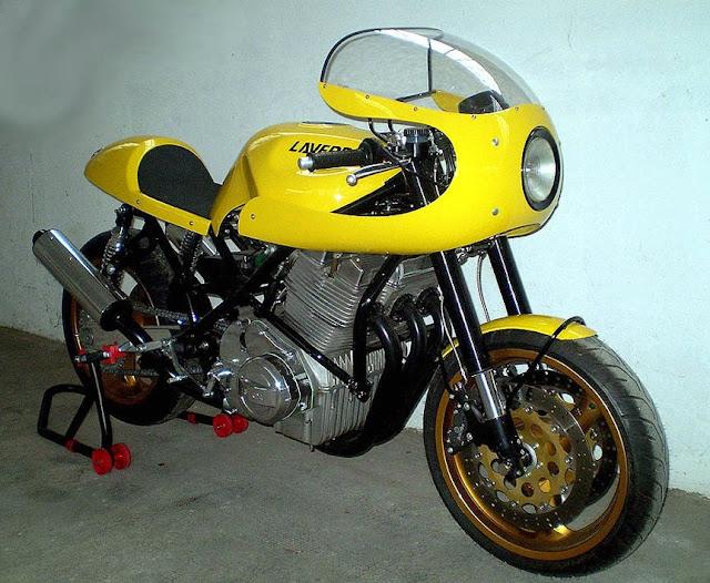 La jaune Da LAVERDA+-TARAKY+1000+3C--5
