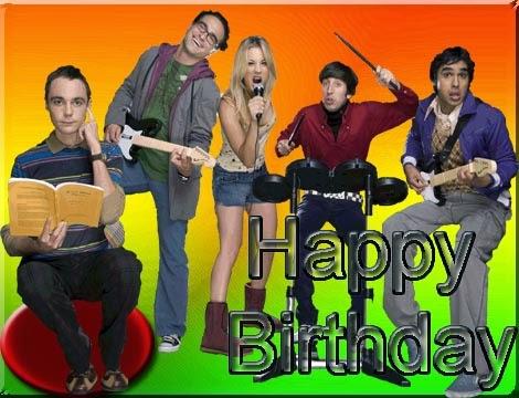 Happy Greetings Congrats Birthday e card The Big bang Theory – Big Bang Theory Birthday Card