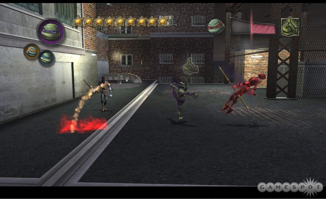 Teenage mutant ninja turtles 2007 free full version pc game download