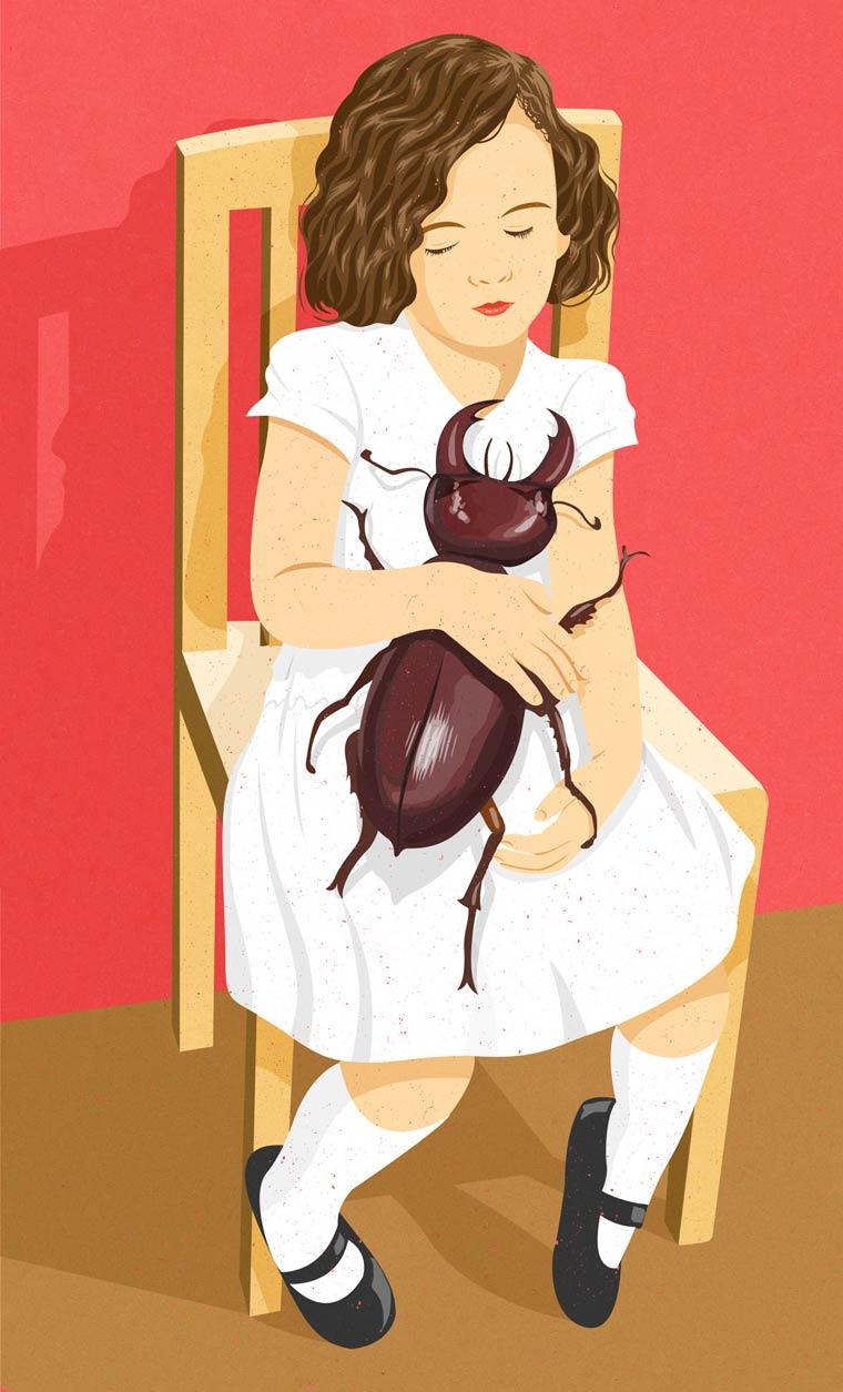 Ilustrações de John Holcroft