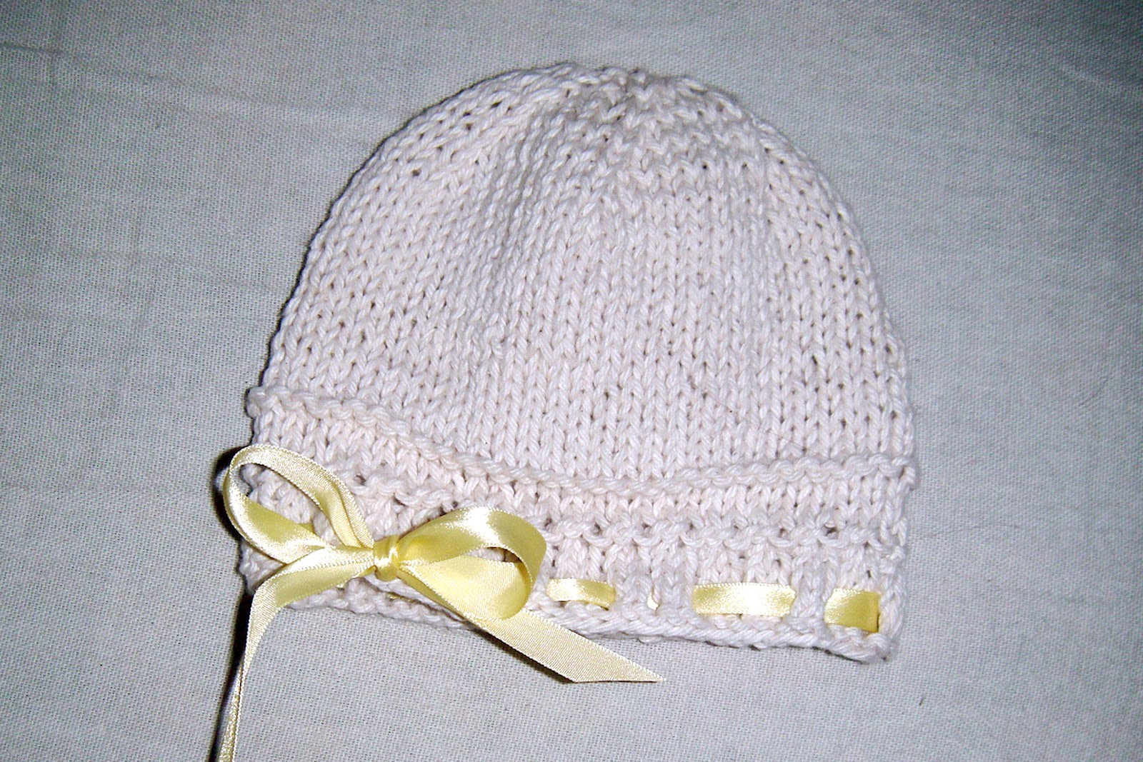 Knitting Hat Patterns Round Needles : Knitting Patterns For Hats Without Circular Needles