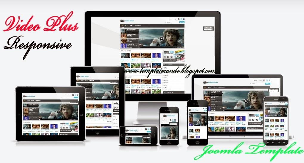 Responsive Video Plus Joomla Template Free Download | Template CanDo