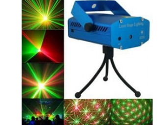 Buy Laser Light Disco Party Club/Mini DJ light/New year Light Decoration at Rs. 699