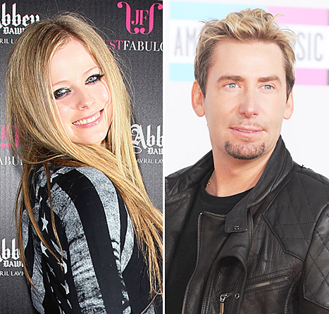 Avril Lavigne and Chad Kroeger Engaged Together