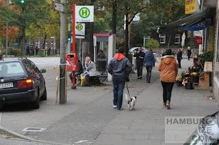 """Heimfelder Straße - """"Radweg"""" mit """"Kampfflaneuren"""""""