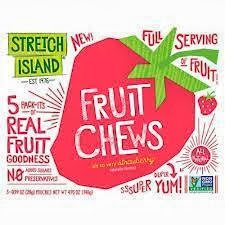 REAL FRUIT Stretch Island Fruit Leather, 0.5 Ounce - Raspberry (2-30 Packs) FOR ONLY 32.50