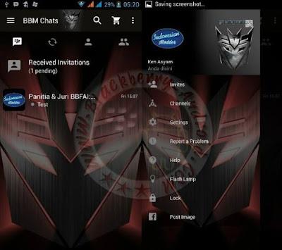 BBM MOD Transformers Logo Themes New Versi 2.11.0.16 Apk