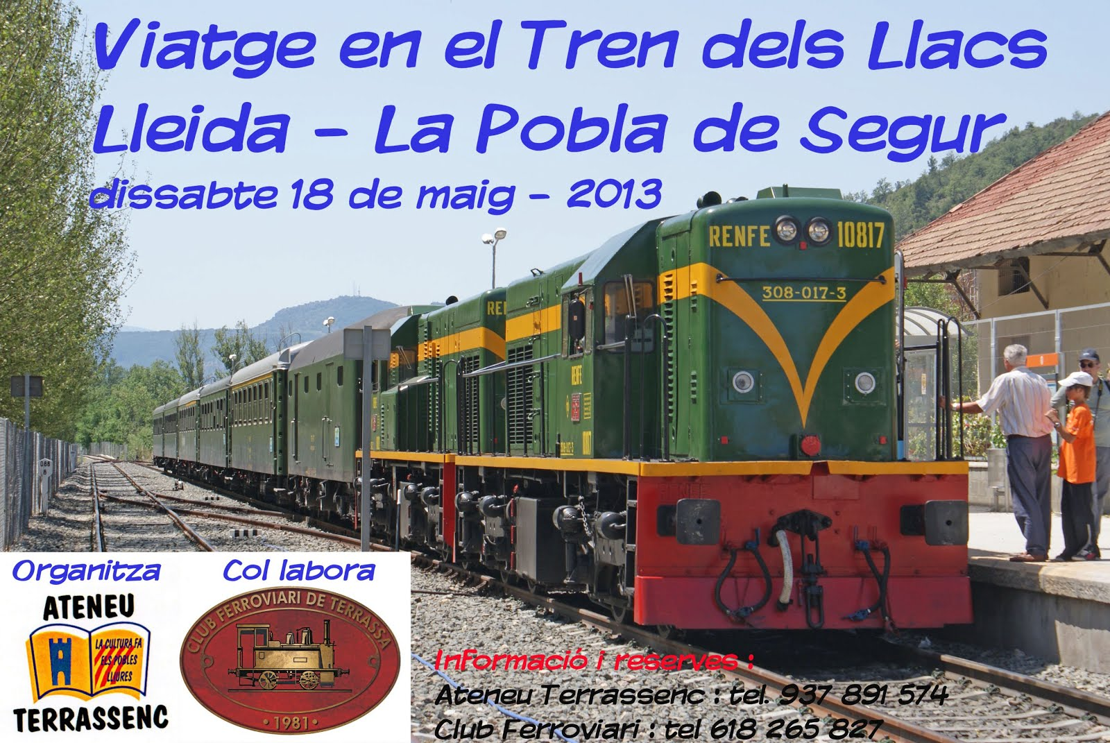 Tren dels Llacs - Cartell
