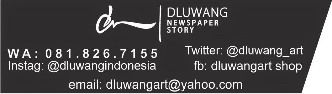 DluwangArt Kerajinan Kertas Koran Bekas
