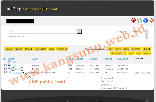 FTP di IDHostinger