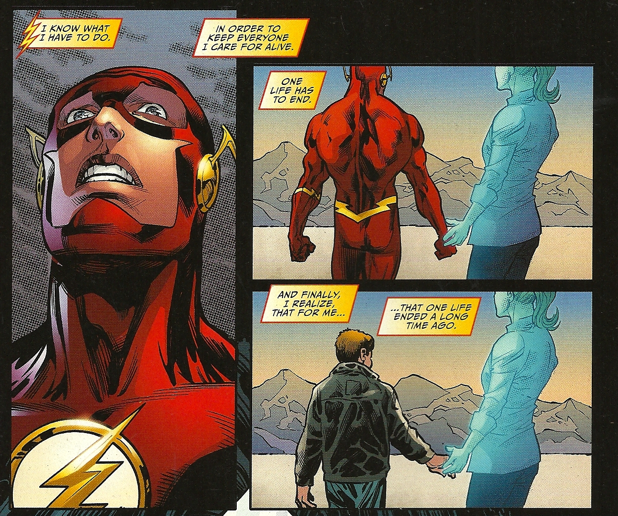 Barry Allen Turn Into The Ring